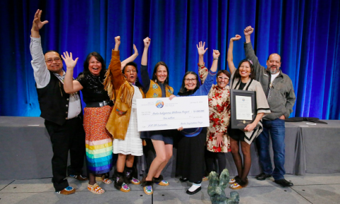 Arctic Inspiration Prize awardees the Arctic Indigenous Wellness Project